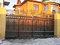 Фото 80 Кованые откатные ворота для загородного дома